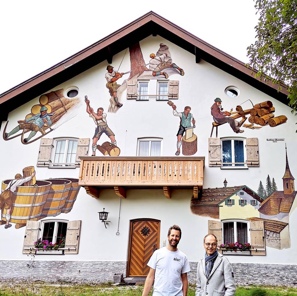 Zu Besuch beim Schindel Hersteller Rapold in Bad Reichenhall